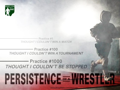 Persistence of a Wrestler