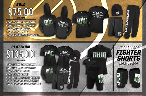 2017 OAC Apparel Packages